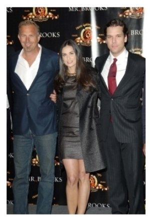 Kevin Costner with Demi Moore and Dane Cook