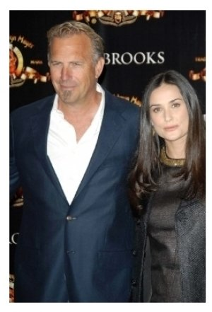 Kevin Costner and Demi Moore