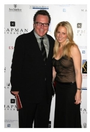 Tom Arnold and friend