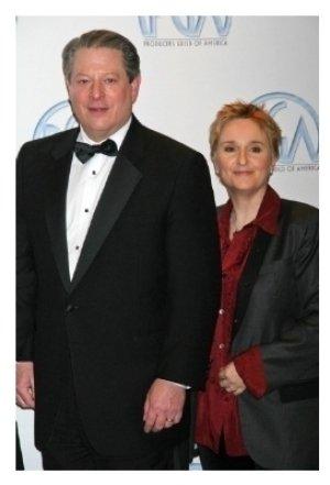 Al Gore and Melissa Etheridge