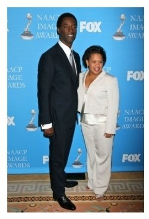 Isaiah Washington and Chandra Wilson