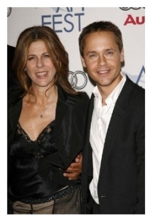 Rita Wilson and Chad Lowe