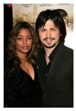 Freddy Rodriguez and wife Elsie