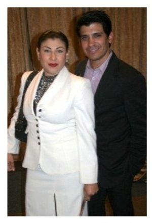 Antonio Rufino and guest