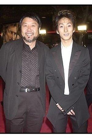 """Masato Harada and Shichinosuke Nakamura at """"The Last Samurai"""" premiere"""