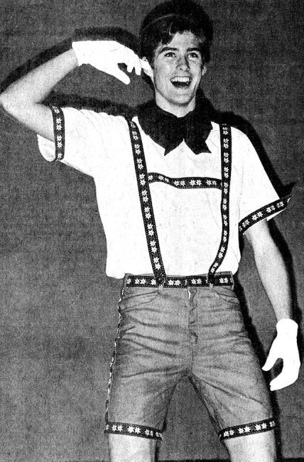 David Hasselhoff, high school play