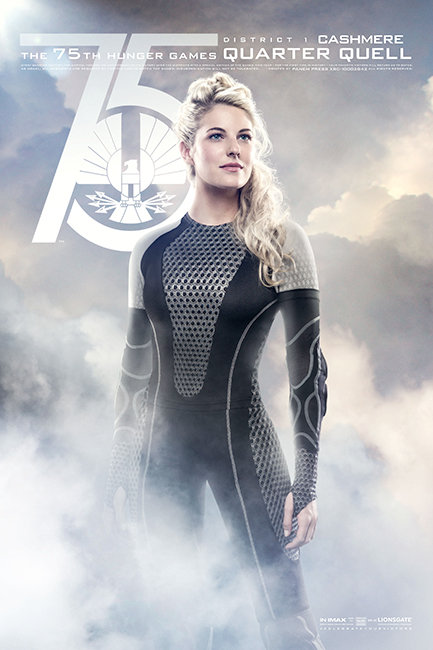 Hunger Games: Catching Fire Poster Cashmere