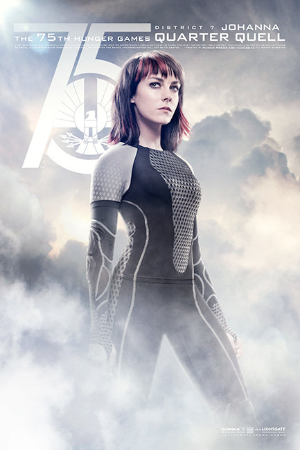Hunger Games: Catching Fire Poster Johanna
