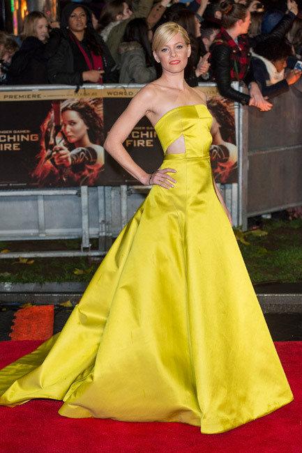 Elizabeth Banks, Hunger Games Premiere London 2013