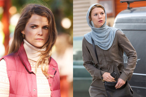 Keri Russell, The Americans and Claire Danes, Homeland