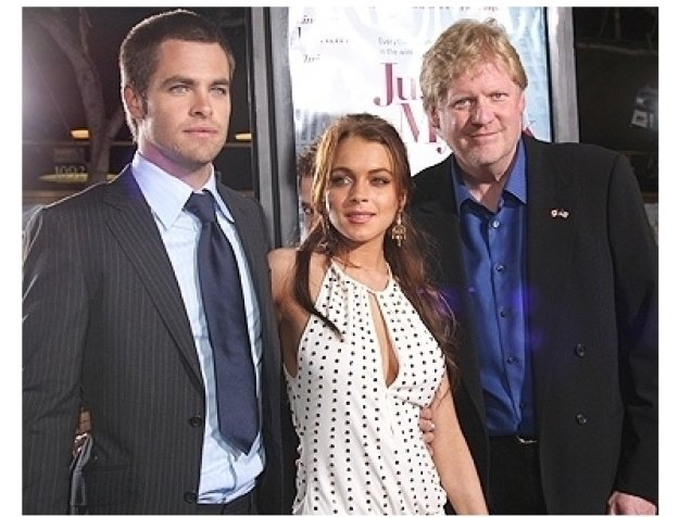 Just My Luck Premiere Photos:  Chris Pine, Lindsay Lohan and Director Donald Petrie