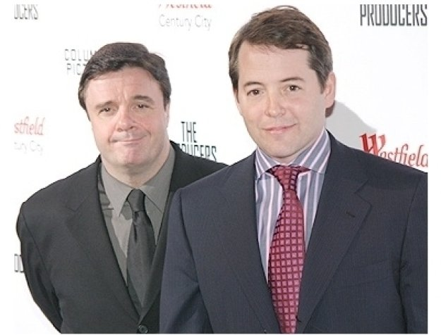 The Producers Premiere Photos: Nathan Lane and Matthew Broderick