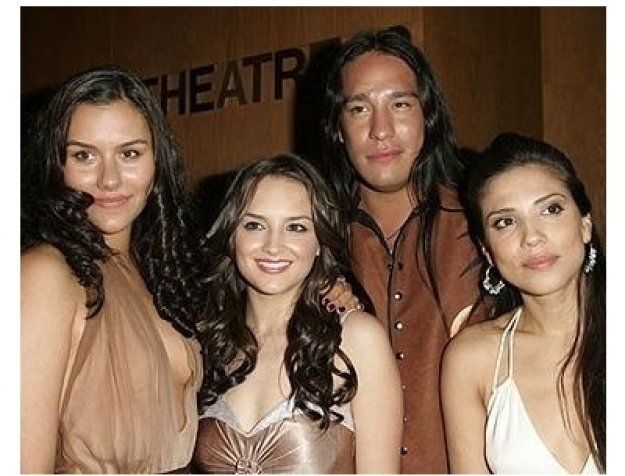 Into the West Premiere: Elizabeth Sage, Rachael Leigh Cook, Michael Spears and Tonantzin Carmelo
