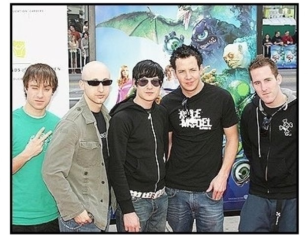 "A Simple Plan at the ""Scooby-Doo 2: Monsters Unleashed"" Premiere"