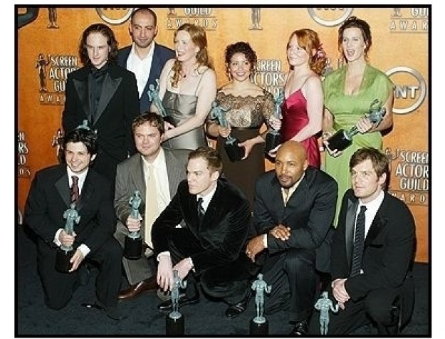 "10th Annual SAG Awards -Cast of ""Six Feet Under"" -Backstage"