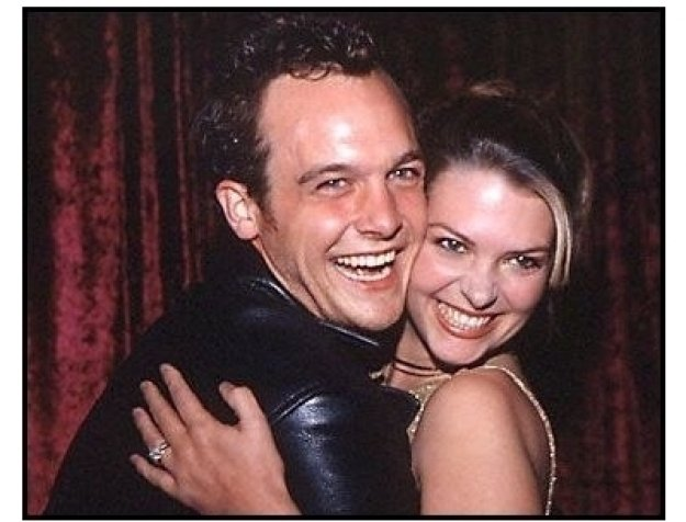 Ethan Embry and date at the 2000 pre-Emmy bash