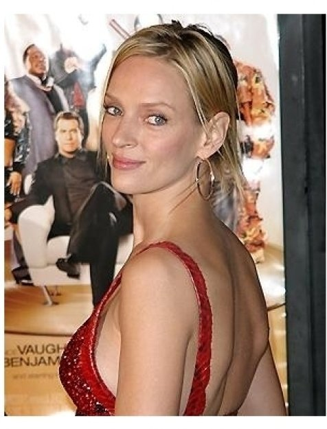Be Cool Premiere: Uma Thurman