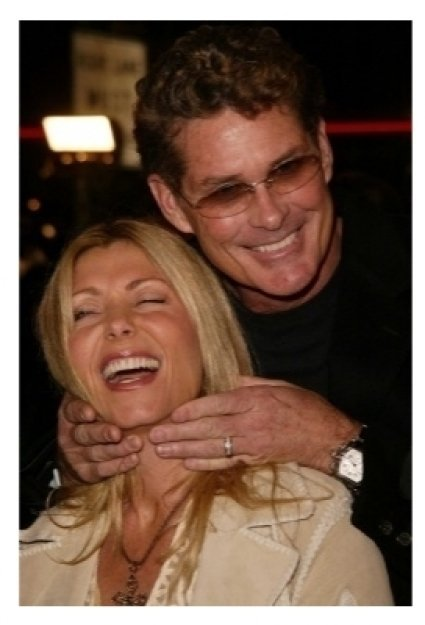David Hasselhoff and wife Pamela