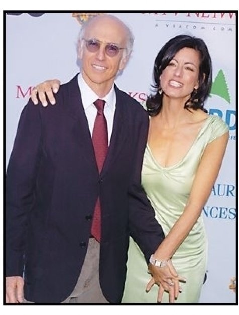 "Larry David and wife Laurie at the NRDC's ""Earth to L.A.!-The Greatest Show on Earth"" Benefit"