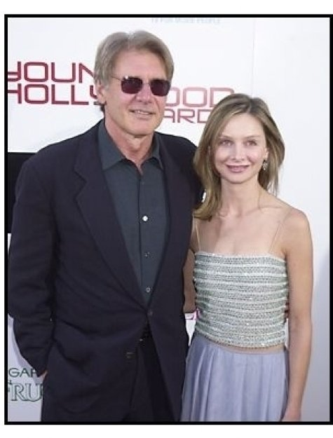 Harrison Ford and Calista Flockhart at the 2003  Young Hollywood Awards