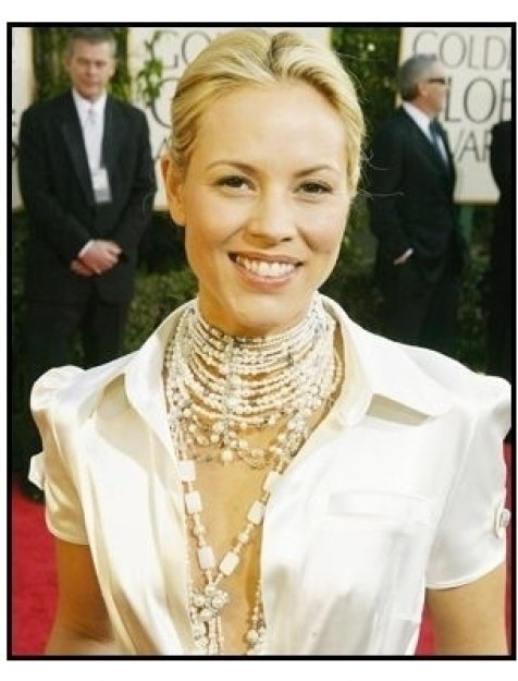 61st Annual Golden Globe Awards--Red Carpet--Maria Bello--Getty--ONE TIME USE ONLY