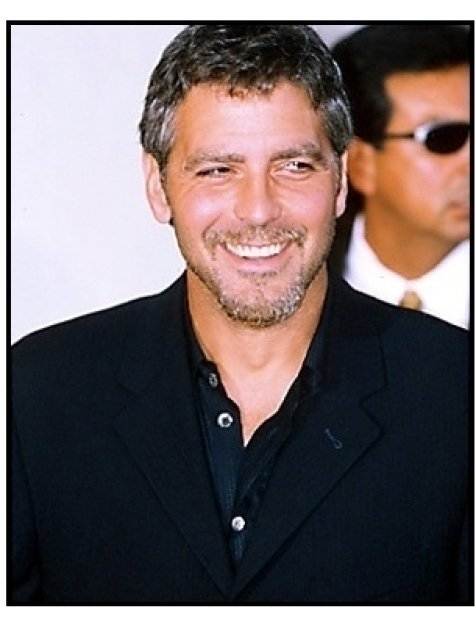 "George Clooney at the ""Perfect Storm"" Premiere"
