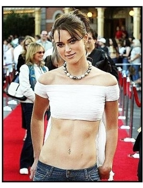 "ONE TIME USE ONLY: Keira Knightley  at the ""Pirates of the Caribbean: The Curse of the Black Pearl"" World Premiere"