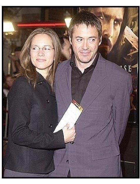 "Robert Downey Jr. and Susan Levin at ""The Last Samurai"" premiere"