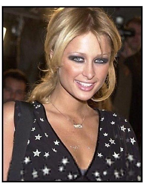 Paris Hilton at the Exit Wounds premiere