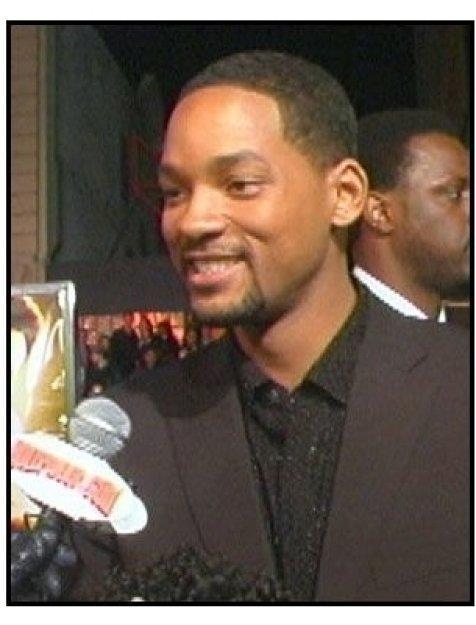 """""""Ali"""" Premiere Video Still: Will Smith"""
