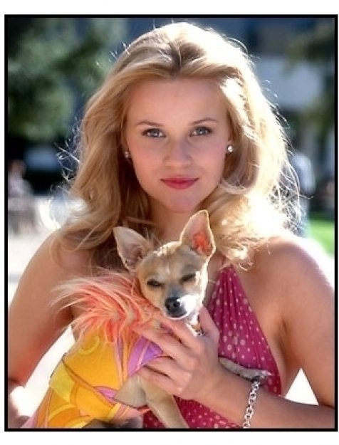 Legally Blonde movie still: Reese Witherspoon