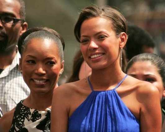 Angela Bassett and Keisha Whitaker