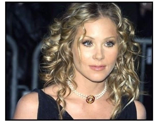 Christina Applegate at The Sweetest Thing premiere