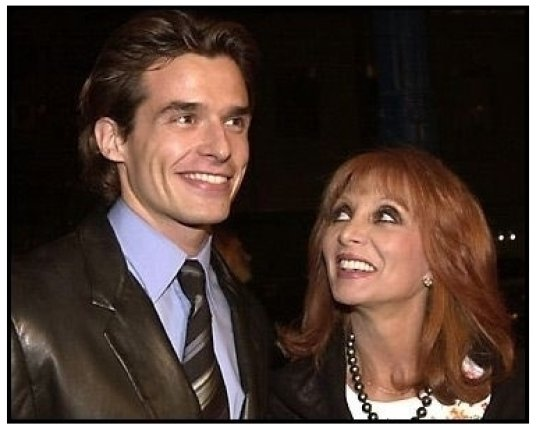 Antonio Sabato Jr and date at the Traffic premiere