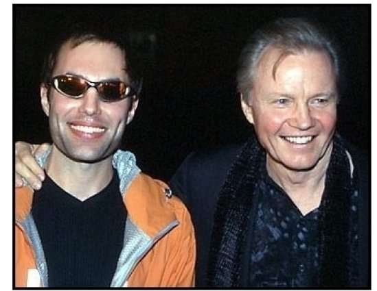 Jon Voight and James Haven Voight at the All the Pretty Horses premiere