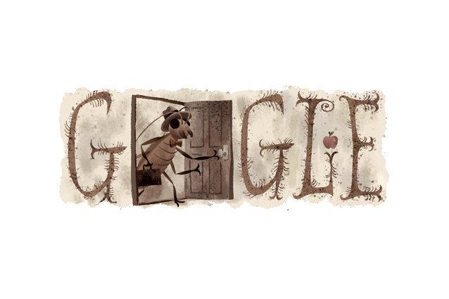 Google Doodle Franz Kafka