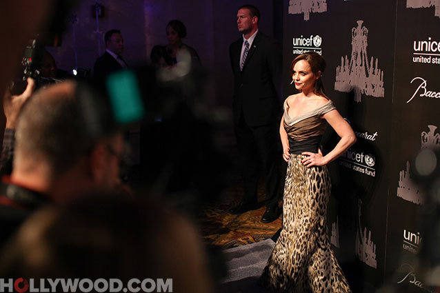 UNICEF Snowflake Ball, Christina Ricci