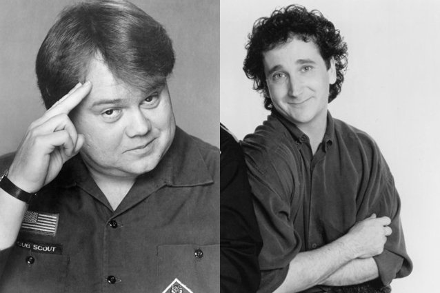 Louie Anderson, Mark Linn-Baker, Perfect Strangers