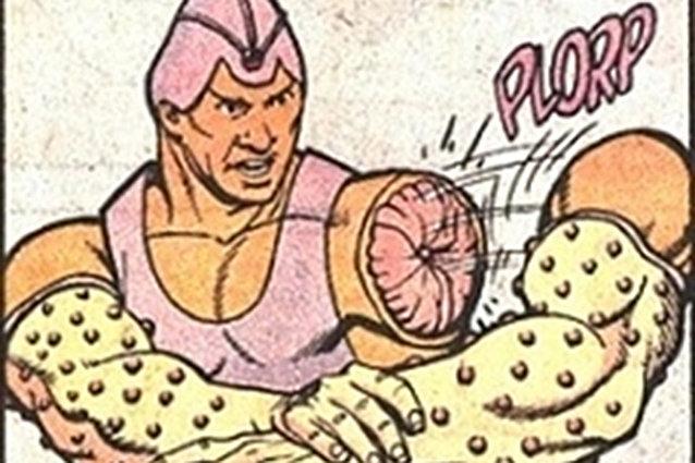 Arm-Fall-Off-Boy, DC Comics