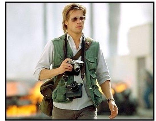 Spy Game movie still: Brad Pitt as Tom Bishop in Spy Game