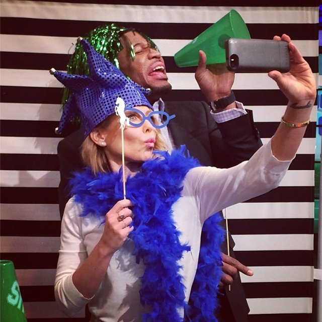 Kelly Ripa and Michael Strahan, Instagram